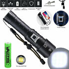 Super Bright XHP160 16-Core LED Flashlight USB Rechargeable Zoom Torch Spotlight