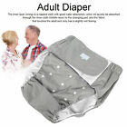 Adult Diaper Adjustable Elderly Diaper Reusable Incontinence Nappy Pant Washable