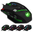 ZELOTES C-12 Wired Mouse USB Optical Gaming Mouse 12 Programmable Buttons Comput