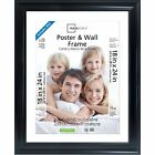 Poster Picture Frames Display Protect Cover Showcase Certificate Multiple Sizes