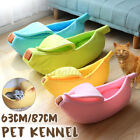 4Color Cat Bed Pet Cushion Bed House Soft Warm Kennel Blanket Nest Washable L/XL