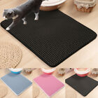 Cat Kitten Litter Mat Double Layer Pad Flexible Trapping for Box Pan Waterproof