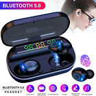 2021 TWS Bluetooth 5.0 Headset Wireless Earbuds Headets Touch Stereo Earphones