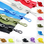 5 Double Zippers Resin Zipper Open End DIY Bag Garments Craft Sewing HOT SALE