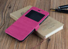 Cover Case Book Window ELEPHONE P7000/0.1oz Touch Wood Small Window