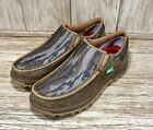 Twisted X Men's Mossy Oak  Camo Slip On With CellStretch Driving Moc MXC0008