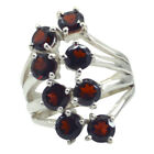 Appealing Ring Garnet Ring 925 Silver Ring Red Ring Handmade Gift For Easter Au