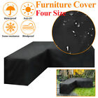 Dustproof+L+Shape+Corner+Sofa+Couch+Covers+Outdoor+Garden+Furniture+Protector