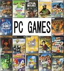 Pc Games - Sims 1 2 3/gta/star Wars/tycoon/diablo/disney & More Free P&p
