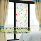 New 3d Static Cling Frosted Flower Glass Window Film Privacy Sticker Home Decor