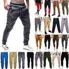 Men's Sports Pants Trousers Tracksuit Bottoms Fitness Workout Joggers Sweatpants