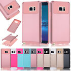 Mix Color Dual Layer Hybrid Protective Case Cover For Samsung LG Motorola HTC