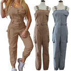Women Solid Jumpsuits Full Length Cute Home Clothing Party Appointment Rompers