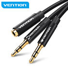 VENTION Headphone Splitter Cable 3.5mm Male to 3.5mm Female Audio Cable