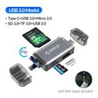 6 in 1 OTG Card Reader USB 3.0 Micro USB 2.0 Type C to SD Micro SD TF Adapter