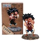 15cm One Piece Luffy Funny Fat Face Swelling Ver. PVC Action Figures OP Luffy