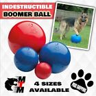 Halti DOG/ PUPPY Boomer Ball Indestructible Durable Tough  Toy Colour RED & BLUE