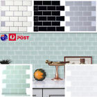 "12""x12"" Peel Stick On Tile Self-adhesive 3d Wall Stickers Tiles Home Room Decor"