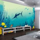 For Dialogue Shark 3D Full Wall Mural Photo Wallpaper Printing Home Kids Decor