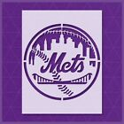 New York Mets stencil - Reusable & Durable - 10 mil - Free Shipping - Custom
