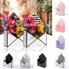12pcs Folding Envelope Flower Box Paper Floral Wrapping Party Wedding Gift Set