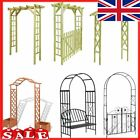 Arch Gate Garden Wooden Decorative Metal Pergola Rose Plant Archway Climbing UK