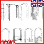Arch Gate Garden Decorative Pergola Metal Rose Archway Plant Arched Climbing UK