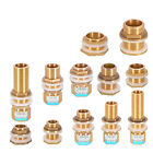 1/2'3/4'1' Brass Water Tank Outlet Fitting Flange Extend Fittings |Silicone Seal