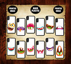 Monster Face Phone Case, Horror Funny Monsters Mouth Cute iPhone Samsung Casses
