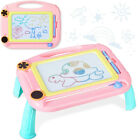 Kids Magnetic Drawing Board Colorful Erasable Writing Table Painting Pen Desk