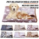 Pet Dog Cat Blanket Flannel Fleece Pad Sleeping Cover Pad Puppy Bed Mat Supply