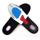 LOT Unisex Orthotic Arch Support Shoe Pad Sport Run Gel Insoles Insert Cushion