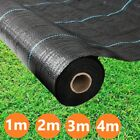 2m 3m 4m Wide Weed Control Fabric Membrane Landscape Mulch Garden Ground Cover