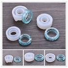 1PC 16/17/18mm Transparent Ring Silicone Mold DIY Jewelry Making Mould Craft