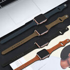 For Apple Watch Band Leather Replacement Band For iWatch Series 7 6 5 4 3 2 1 SE