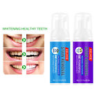 Toothpaste Teeth Whitening Foam Cleaning Mouth Wash Freshen Breath 60mL New