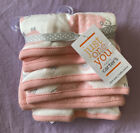 Just One You by carter's Baby Girls' 6pk Cheep/Rainbow Stars Washcloth Set Pink