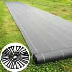Pegs + Heavy Duty Weed Control Membrane Weed Fabric Mat Garden Ground Landscape