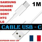 Câble 1M charge Rapide USB Type C Chargeur Recharge Sync Blanc Samsung...