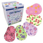 Ortopad Soft Bamboo Girls Eye Patches - Patterns with Textured Accents (50/box)
