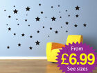 stars wall stickers, removable wall stickers stars