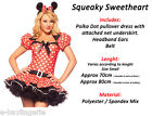 Sexy Minnie Mouse Ladies Fancy Dress Costumes Plus Size