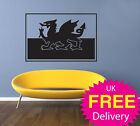 Wall Stickers, Wall Sticker, Wales flag, wall art
