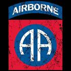 AIRBORNE DISTRESSED PRINT ARMY GIFT T-SHIRT MILITARY LO