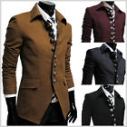 THELEES Mens Casual Slim Fitted Stylish Style Jacket Blazer Coat Collection