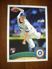 Lot (10) CHARLIE FURBUSH 2011 Topps Update Rookie Card #US173 Seattle Mariner RC. rookie card picture