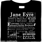 Jane Eyre, T-Shirt, Jayne Eyre Character List,  Charlotte Bronte,  Small - 5X