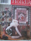Sewing Patterns Christmas/Easter Crafts Ornaments Pillows Curtains Dolls Lot #12