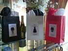 PERSONALISED WEDDING 3D GIFT BAG 31X24X10CM COMBINED P&P BRIDESMAID USHER PARENT