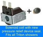 Shower solenoid coil Fits REDRING  MX GALAXY CREDA GAINSBOROUGH electric showers